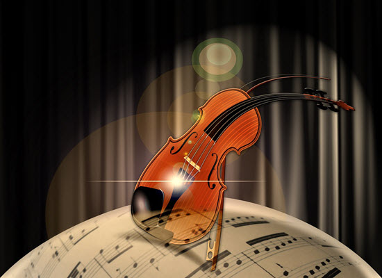 violin 400px